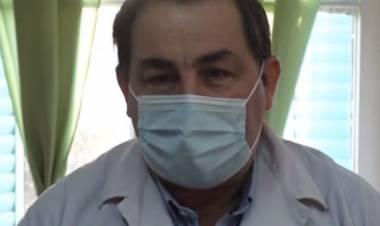"""Juan Pablo Poletti: """"Estamos haciendo un llamado a la población para bajar la circulación del virus"""""""