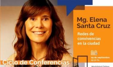 """Continúa el Ciclo de Conferencias """"Vínculos y Ciudadanía: Lo colectivo los pandemia"""""""