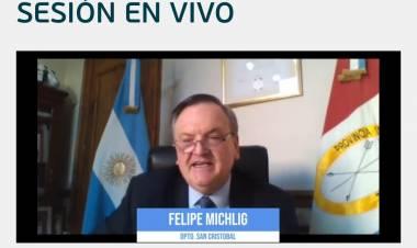 El Senador Felipe Michlig solicitó la remisión de fondos de Obras Menores para la Municipalidad de Ceres