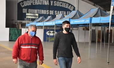 """Paco Garibaldi: """"Hay dos prioridades hoy en Santa Fe: cuidar la salud y evitar que perdamos más puestos de trabajo"""""""