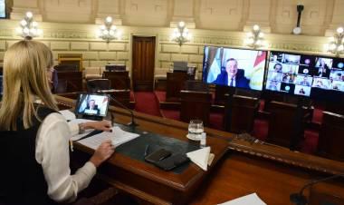 Michlig solicitó que la Provincia avance con la construcción de los edificios de la Esc. N° 500 de Suardi y el ISP N° 26 de Ceres