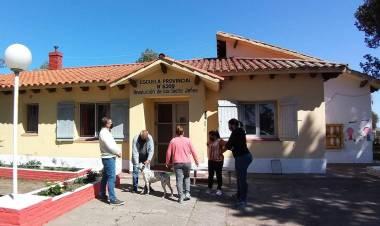 Rodrigo Borla entrego aportes del Senado para instituciones de Ramayón y Gobernador Crespo