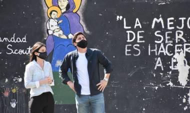 """Paco Garibaldi: """"Conectar a Las Lomas a internet es trabajar para cerrar la gran brecha digital que tenemos*"""