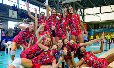 Maira Westergaard, una santafesina campeona de vóleibol en España