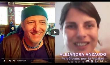 """Alejandra Anzaudo y la posición de """"psicólogos por la verdad"""" ante el difícil momento de la cuarentena"""