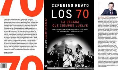"""Ceferino Reato el autor de """"Los 70, la década que siempre vuelve"""""""