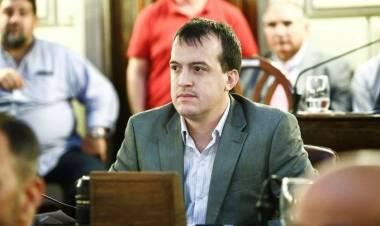 Joaquín Blanco  y la preocupación de la legislatura santafesina por el juego clandestino