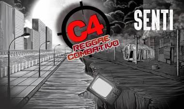 """C4 Reggae Combativo presenta su nueva canción """"Sentí """""""