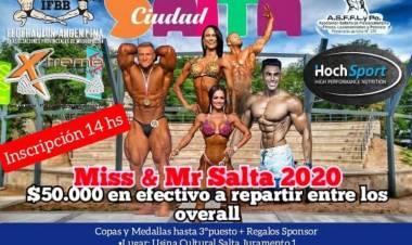 Alejandro Álvarez y el regreso de las competencias de musculación en el país