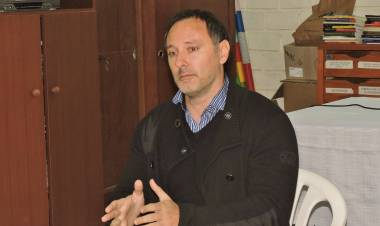 """Fabián Casanitti y la creación de la nueva agrupación gremial docente """"La Moreau"""""""