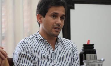 Lucas Simoniello y un proyecto para que se puedan construir más viviendas en la ciudad