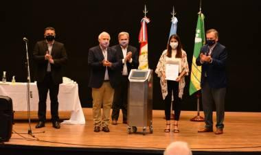 El Senador Felipe Michlig y el ex Gobernador Miguel Lifschitz visitaron las ciudades de Suardi y San Guillermo
