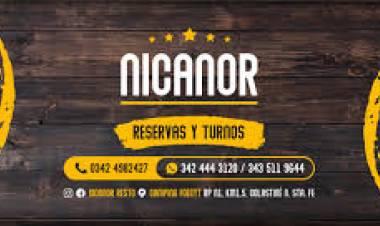 Nicanor Restó la mjor propuesta para el fin de semana en la zona de la costa