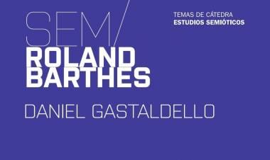 Estudios semióticos de Roland Barthes, en una publicación de la UNL