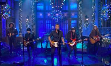Bruce Springsteen se presenta en vivo con la E Steet Band luego de 4 años