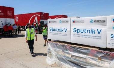 Comienza la logística y distribución de la Sputnik V en la provincia de Santa Fe