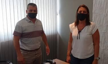 La diputada provincial, Betina Florito, mantuvo una reunión con Pedro Uliambre