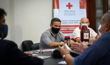 """Leandro: """"La Cruz Roja tiene mucho para seguir aportando en la ciudad"""