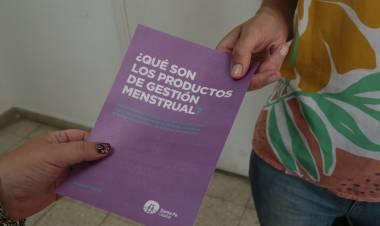 Más de 1.700 personas ya se inscribieron al Plan Municipal de Gestión Menstrual