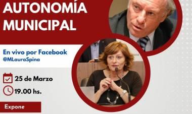 """Charla: """"Autonomía Municipal"""" Expone Dr. Antonio María Hernández"""