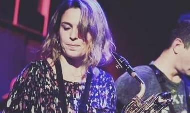 Fernanda Lagger saxofonísta santafesina