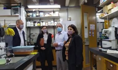 La provincia acompañó a autoridades nacionales de Conicet a recorrer el Centro Científico Tecnológico de Rosario