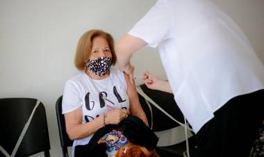 La provincia recibió 18.800 dosis de vacunas Covishield