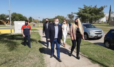 "Michlig reclamó a la Provincia licitar la obra de ""Desagues cloacales para 8 barrios de la ciudad de Ceres"""