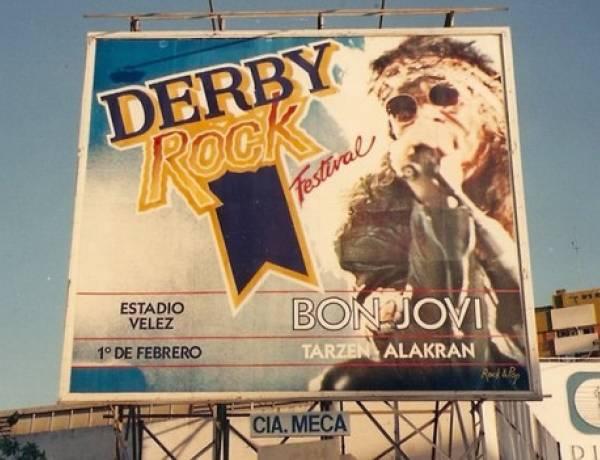 Hoy se cumplen 30 años desde la primera presentación de Bon Jovi en Argentina