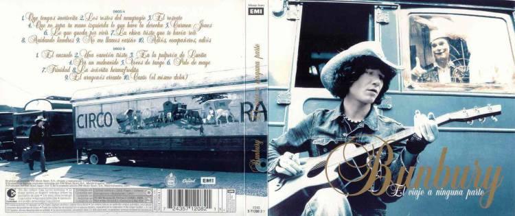 El 17 de mayo de2004 se edita «El viaje a ninguna parte» deBunbury