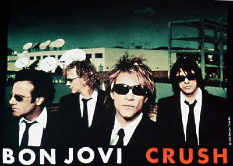 El 13 de junio de 2000 Bon Jovi lanza el álbum Crush