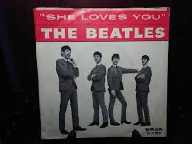El 26 de junio de 1963LosBeatlescomienzan a escribir 'She loves you'