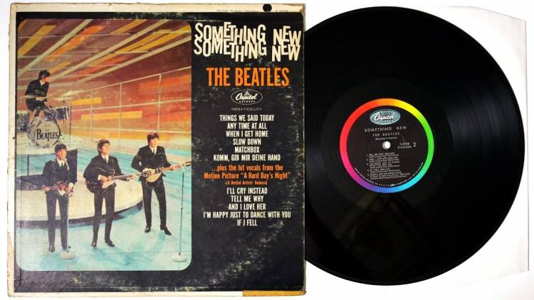 El 20 de julio de 1964 Los Beatles publican en Estados Unidos el álbum «Something new»
