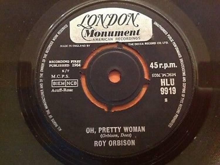 El 29 de agosto de 1964 sale a la venta'Oh, pretty woman' de Roy Orbison
