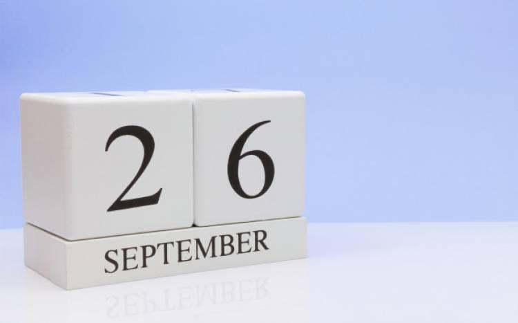 Efemérides de música de este 26 de setiembre