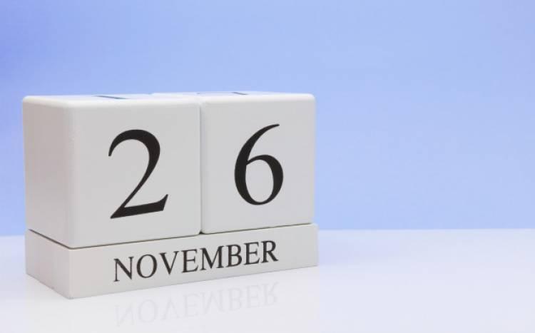 Efemérides de música de este 26 de noviembre