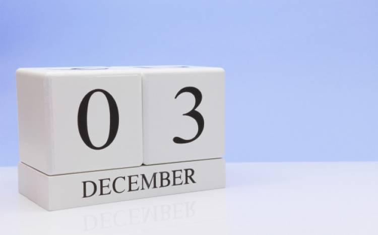 Efemérides de música de este 3 de diciembre