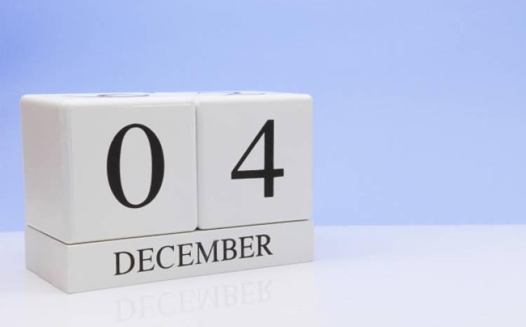 Efemérides de música de este 4 de diciembre