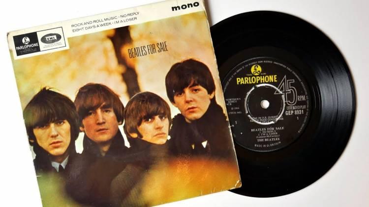 """El 6 de abril de 1965 se lanzan el EP """"Beatles for Sale"""""""