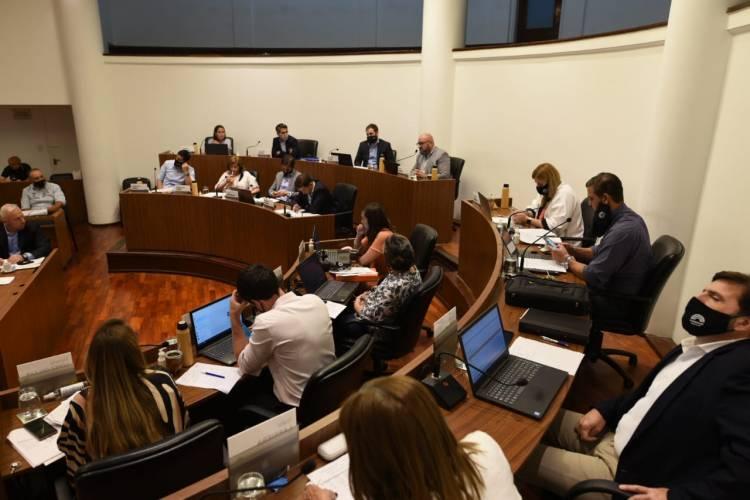 Por amplia mayoría el Concejo aprobó el presupuesto 2021