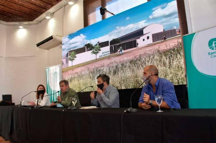 Crearán 20 estaciones para acercar  el municipio a los barrios