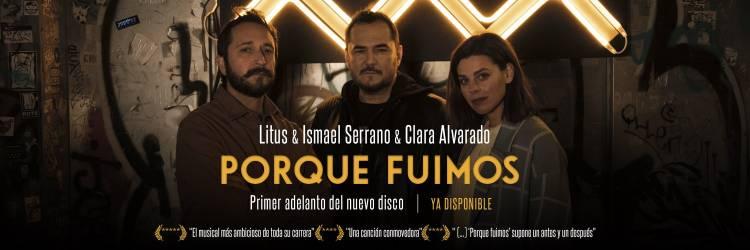 """Ismael Serrano anticipa disco con la canción """"Porque fuimos"""" con la participación de Litus y Clara Alvarado"""