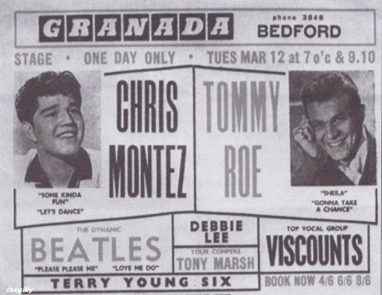 09 de Marzo de 1963 The Beatles comienzan su segunda gira por Inglaterra