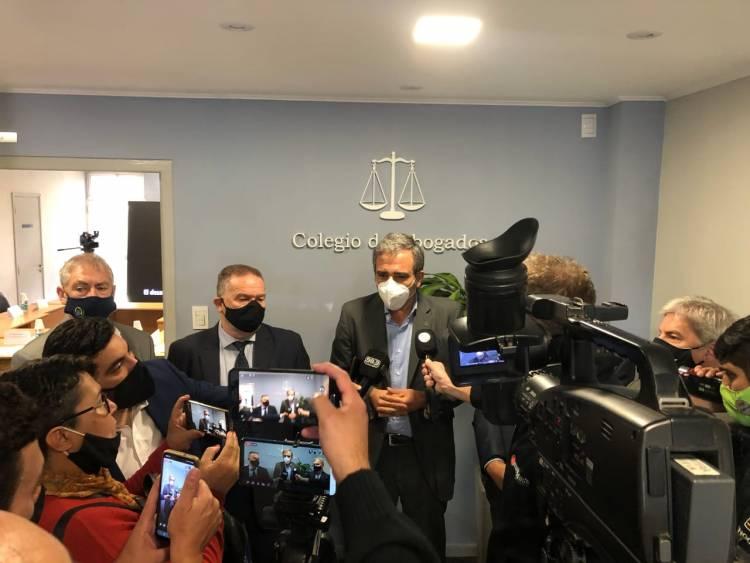 El Ministro de Seguridad de la provincia participó del debate por la Ley de Víctimas del Delito