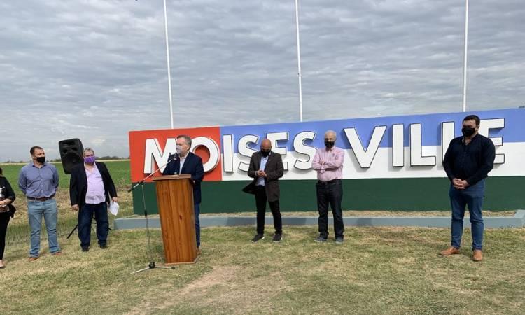 La comunidad de Moisés Ville volvió a reclamar por la repavimentación de la Ruta Moisés Ville - Virginia