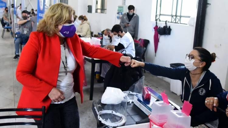 COVID-19: Durante julio se enviaron 957.876 turnos para la vacunación