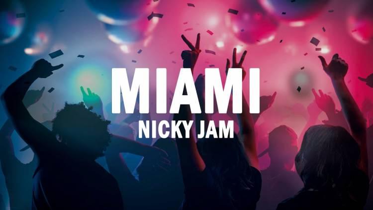 """Nicky Jam es seducido por la tentación en su nuevo single  """"Miami"""""""