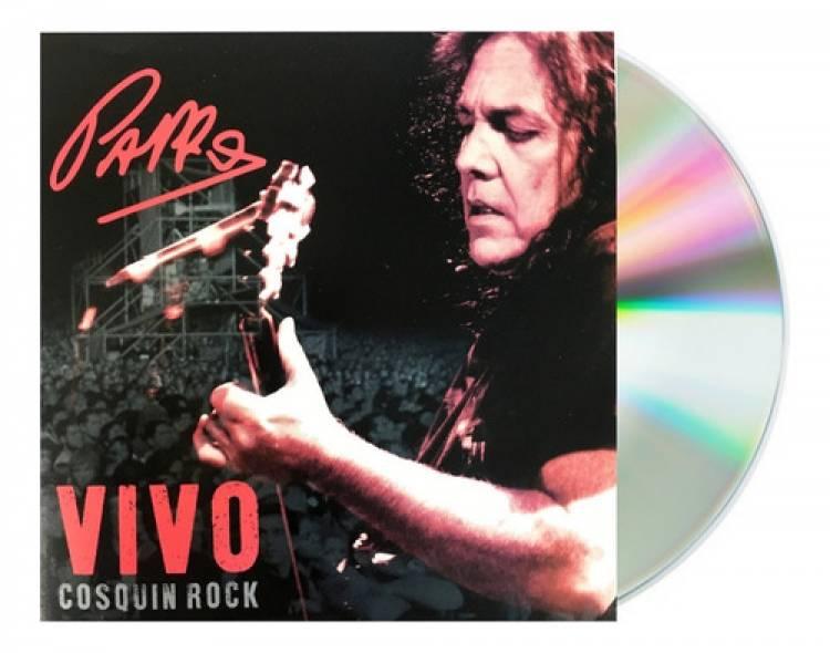 Lanzan el disco de Pappo en vivo en el Cosquín Rock 2005