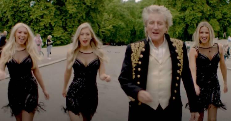 """Rod Stewart lanza con 76 años su nuevo álbum, """"The Tears of Hercules"""""""