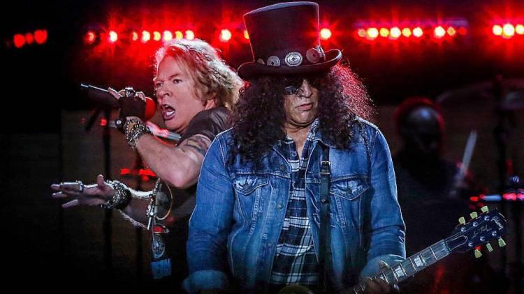 """Slash publica un adelanto de """"Hard School"""", una nueva canción de Guns N' Roses"""